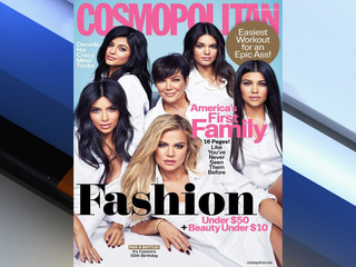 Cosmo calls Kardashians 'First Family'