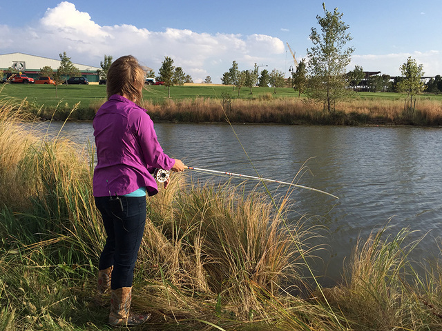 colorado female entrepreneur hopes to change the face of fly, Fly Fishing Bait