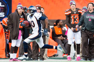 Photos: Broncos barely beat Browns in Cleveland