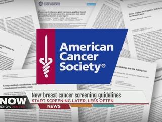 Society s new guidelines for mammograms leave room for interpretation