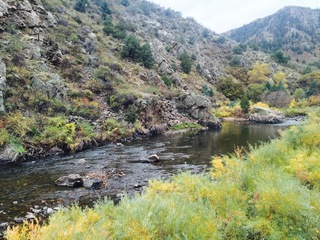 Waterton Canyon now closed on weekdays until Nov