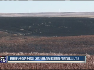 70-acre wildfire near Deer Trail extinguished
