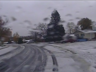 Roads: Snowy in the mountains, wet around Denver