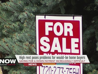 20 pct. house down payment in Denver is $63K
