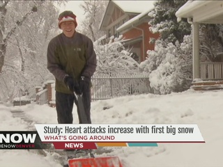Study: Heart attacks increase with 1st snowstorm