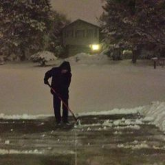Tips to help prevent injury from shoveling snow