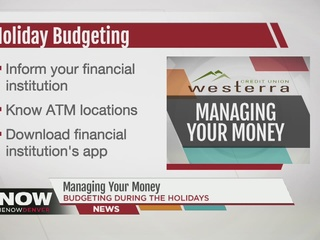Manage your money before you shop this weekend