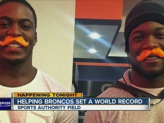 Broncos urge fans to sport mustaches Sunday