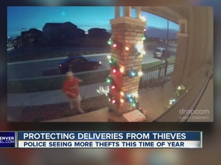 Apps help protect from package thieves