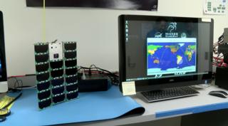 Small CU satellite getting big weather updates
