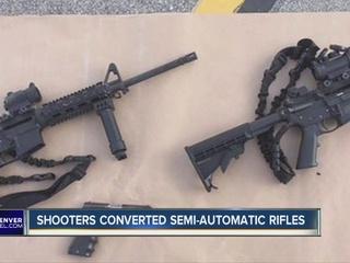 Gun accessories easily modify semi-auto guns