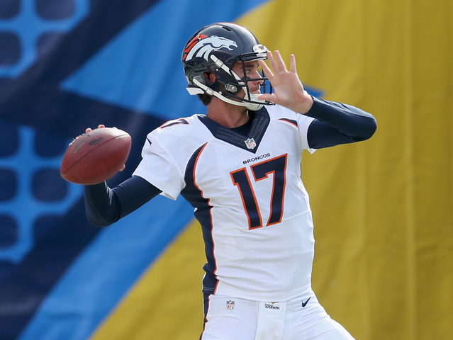 Brock Osweiler V Peyton Manning What Should The Denver