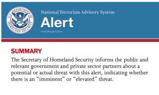New terror alert system for the U.S.