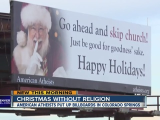 Santa billboards: 'Go ahead and skip church!'