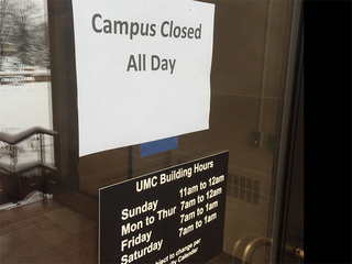CU-Boulder cancels some exams because of snow