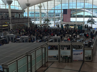 10 guns found in 19 days at DIA checkpoints