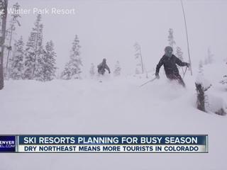 Colorado ski resorts planning for busy season
