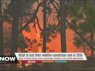 Wildfire prediction tool may save lives in 2016