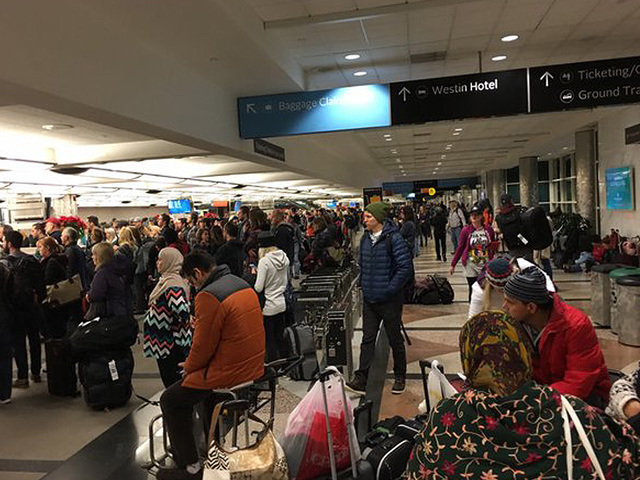 Denver Airport Blames TSA for Long Security Lines After Christmas