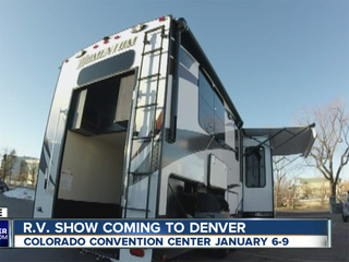 A huge RV show will be coming to Denver Jan. 6-9