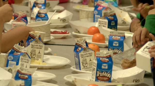 Most school lunches healthier than guidelines