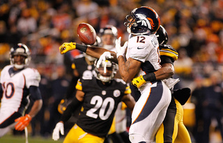 Broncos vow not to make same mistakes v Steelers