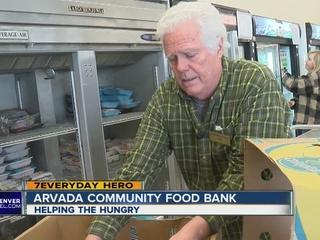 7Everyday Hero helps Arvada Community Food Bank