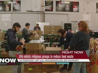EPA asks faith groups to help reduce food waste
