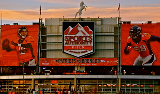 One change to Mile High Stadium naming rights