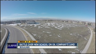 Land owned by oil company can't have new school