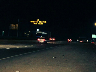 Why are all the CDOT message signs so depressing