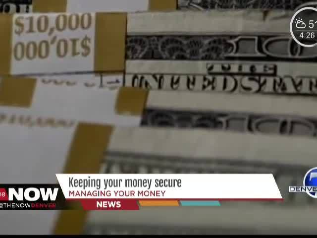 Keeping Your Money Secure