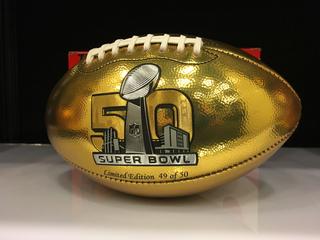 Super Bowl 50 NFL Shop: Go for the GOLD!