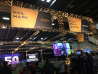 360-degree video tour inside the NFL Experience