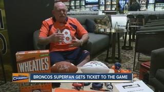 CA Broncos fan raising $ for Super Bowl ticket