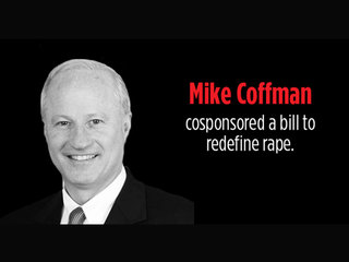 Did Coffman co-sponsor bill to redefine rape?