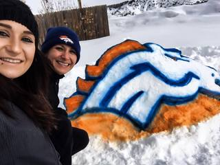 PHOTOS: This is a snow day in Broncos Country