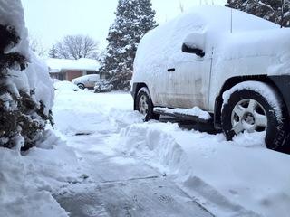Denver's big snowstorm: A rare, great beast