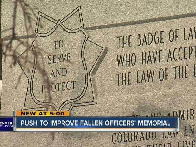 Improving Fallen Officer Memorial