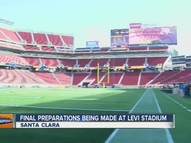 Inside Levi's Stadium where Super Bowl 50 will be played