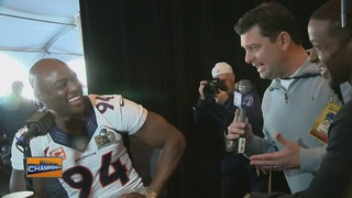 What happens when Broncos quiz the media?