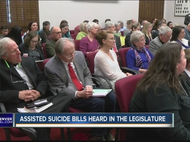 Assisted suicide bills heard in the Legislature