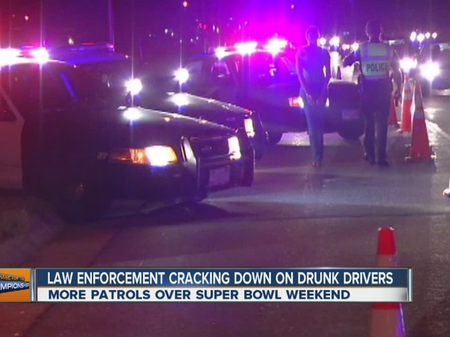 Colorado police step up DUI enforcement for Super Bowl weekend