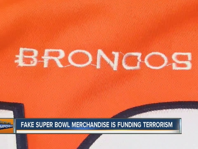 Feds: Sales from counterfeit Super Bowl merchandise have been traced…