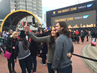 360-degree video tour of Super Bowl City