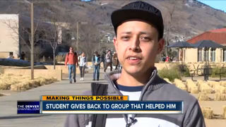 Student says scholarship has helped with success
