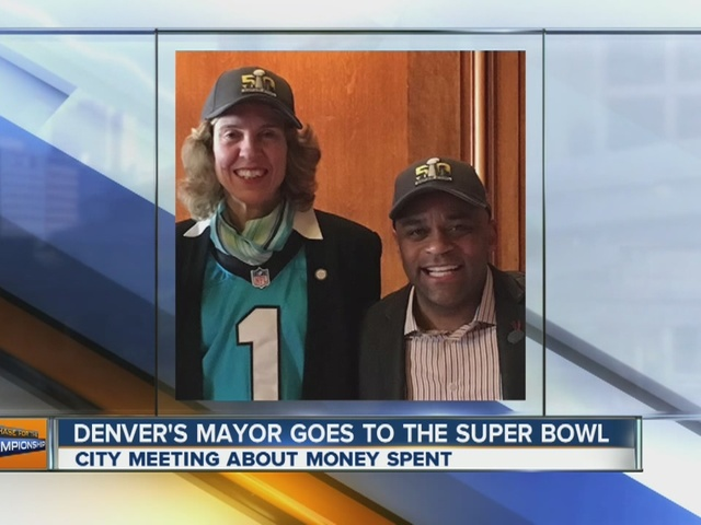 Board: Denver Mayor's use of city funds for Super Bowl trip is ethical