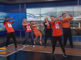 WATCH: Denver7 learns the 'Broncos Bounce'