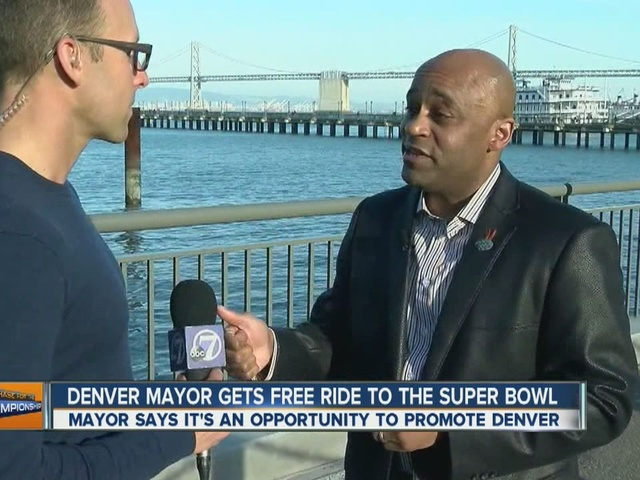 Denver Mayor defends use of city funds for Supert Bowl trip