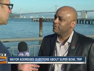 Denver Mayor defends use of city funds for trip
